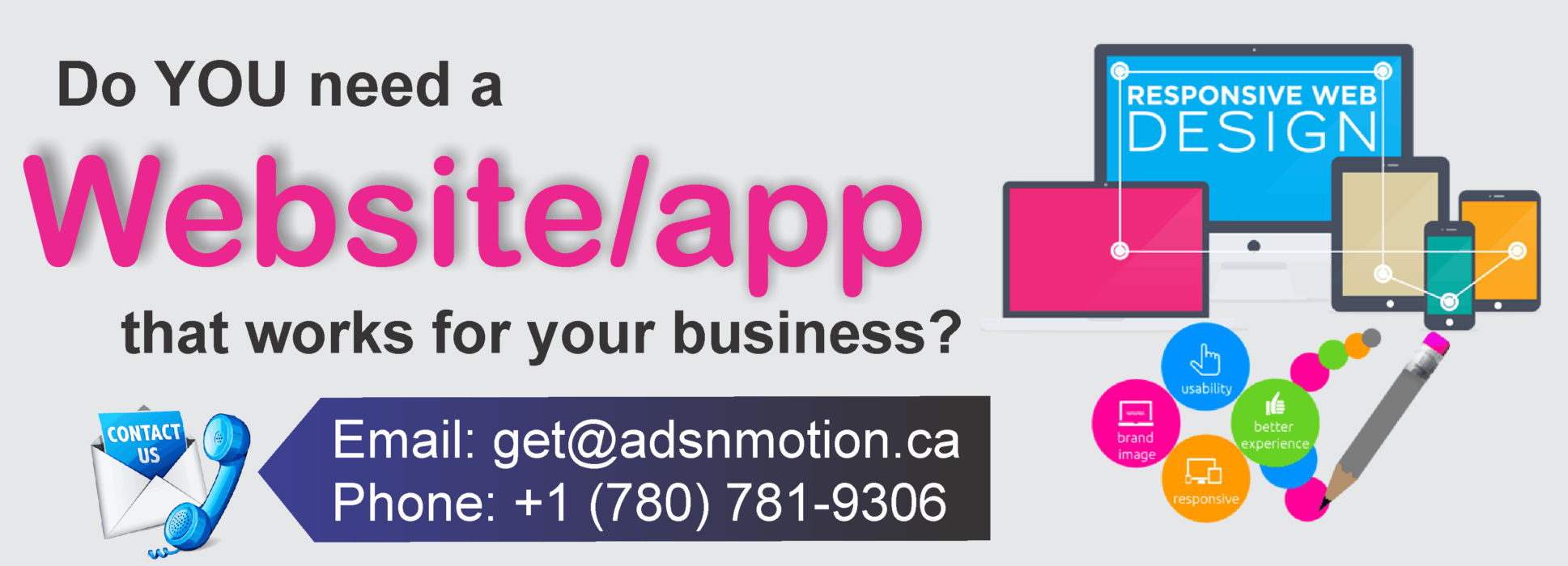 Professional Website and Mobile Application Development in Camrose, Alberta, Canada